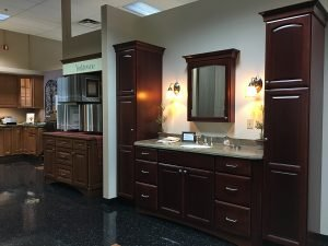 custom dark wood cabinets in york PA